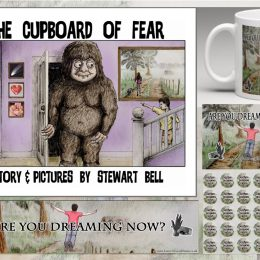 TAOB Pt 2 update/ The Cupboard Of Fear Storybook plus Lucid Dreaming Tools Fundraising Campaign (Originally posted on Jan 26, 2016)